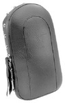 SISSY BAR PAD - STUDDED WITH CONCHOS - 12.5IN TALL - 7IN WIDE
