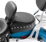 WIDE TOURING STUDDED RECESSED REAR SEAT