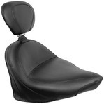 WIDE TOURING SOLO SEAT WITH DRIVER BACKREST