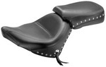 WIDE TWO-PIECE TOURING SEAT - STUDDED