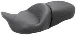 1-PIECE HEATED TOURING SEAT - BLACK PEARL CENTERED STUDS