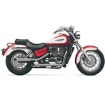 BOULEVARD CLASSIC STAGGERED SLASH-CUT  EXHAUST SYSTEM