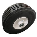 HAND TRUCK SAWTOOTH WHEEL/TIRE ASSEMBLY