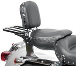 SETBACK SISSY BAR PAD - STUDS WITH CONCHOS