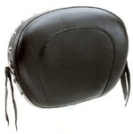 SISSY BAR PAD - STUDDED WITH CONCHOS