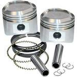 3 1/2IN. FORGED PISTON KIT FOR SUPER STOCK HEADS - 0.005 OVERSIZED