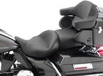 SUPER TOURING ONE-PIECE VINTAGE SEAT WITH RECEIVER