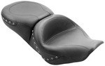 ONE-PIECE WIDE TOURING STUDDED SEAT - BLACK STUDS