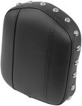 SISSY BAR PAD - STUDDED WITH NO CONCHOS - 9IN TALL - 7.5IN WIDE