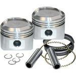 FORGED PISTON KIT FOR 89CI. STROKER KIT - STANDARD BORE 3 1/2IN.