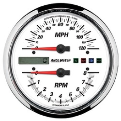 DROP IN TACH/SPEEDO COMBO '95-'03 ROAD KING, WIDE GLIDE & SO
